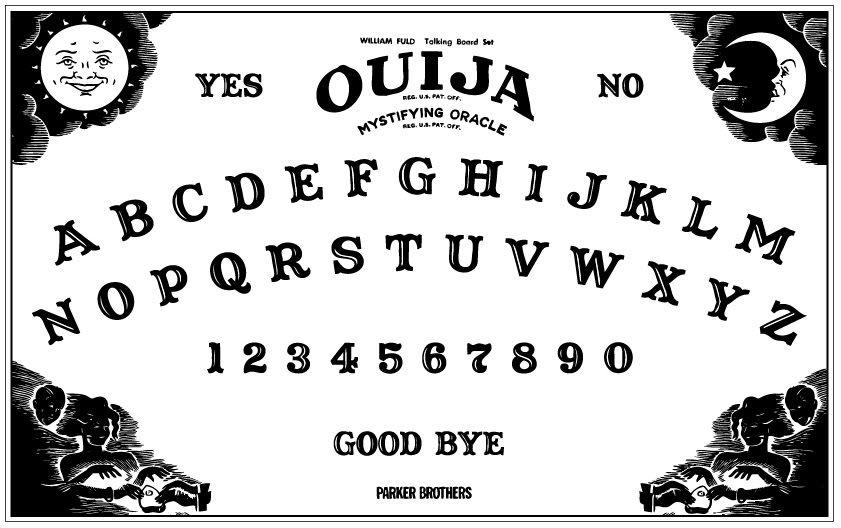 Irresistible image pertaining to ouija board printable