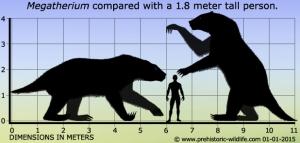 megatherium-size